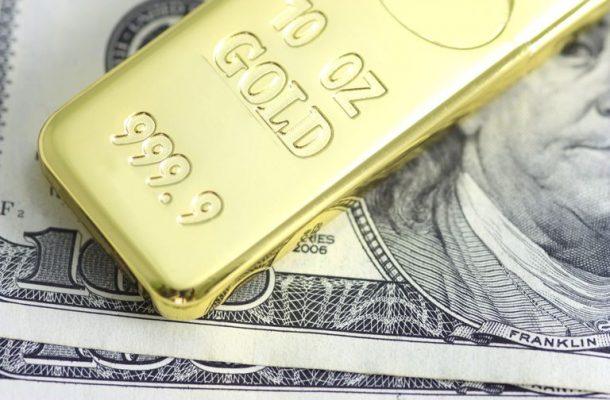Златото достигна едномесечен връх след като поскъпна с $20