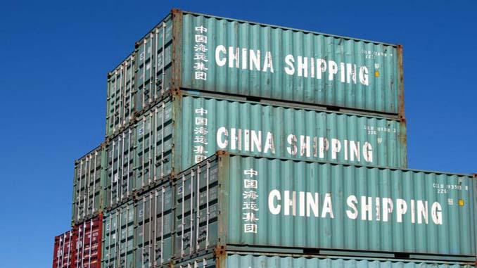 Търговски баланс на Китай