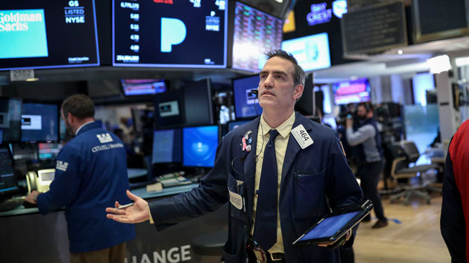 Разпродажба на фондови пазари