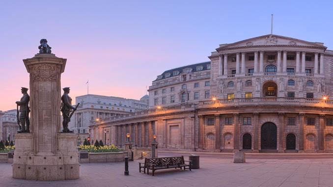 Среща на английска централна банка