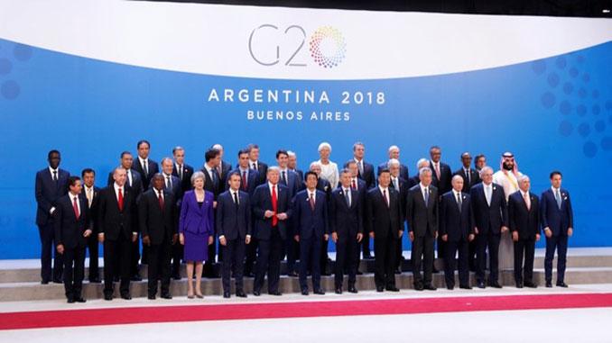 Среща на Г-20 в Буенос Айрес