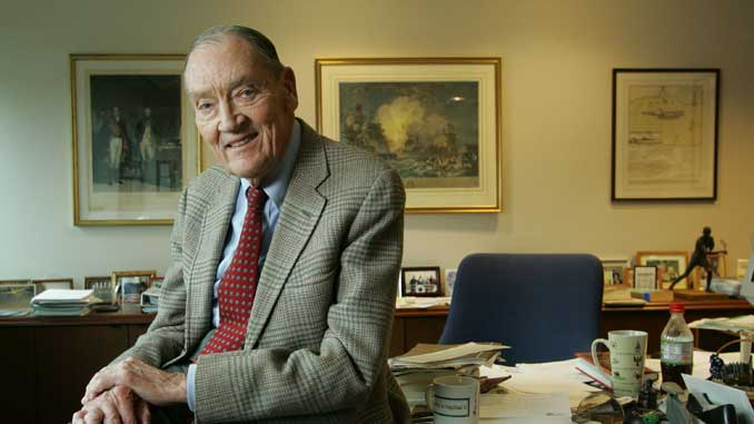 Основателят на Vanguard Group Джак Богъл почина на 89 години