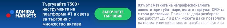 Търгувайте с MetaTrader 5 от Admiral Markets