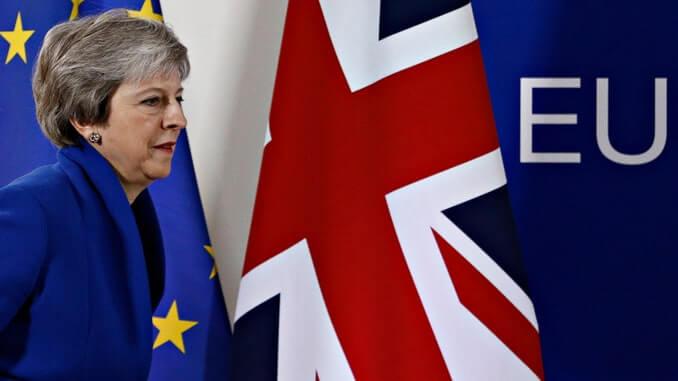 Британски паунд след Тереза Мей