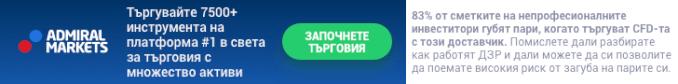 Търгувайте на MetaTrader 5 от Admiral Markets