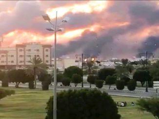 Петролни атаки в Саудитска Арабия